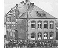 Schule Niederzerf, Amtsbürgermeisterei Saarburg-Ost, Verwaltungsreform Rheinland-Pfalz